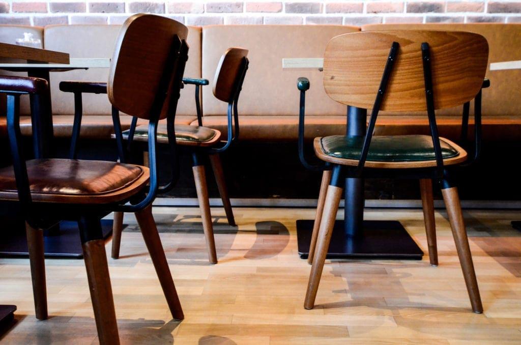 Stühle und andere Sitzgelegenheiten im Vintagestyle