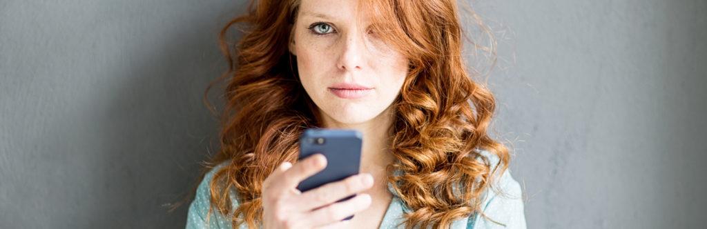 Kontakt mit dem Handy aufnehmen