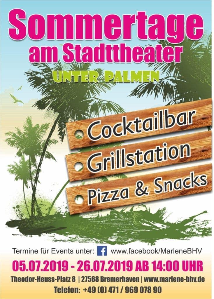 Sommertage 2019 am Stadttheater Bremerhaven