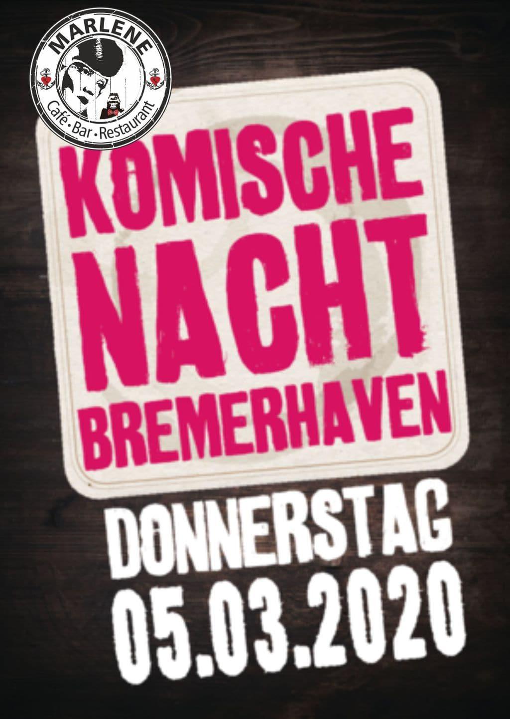 Komische Nacht Bremerhaven 2020